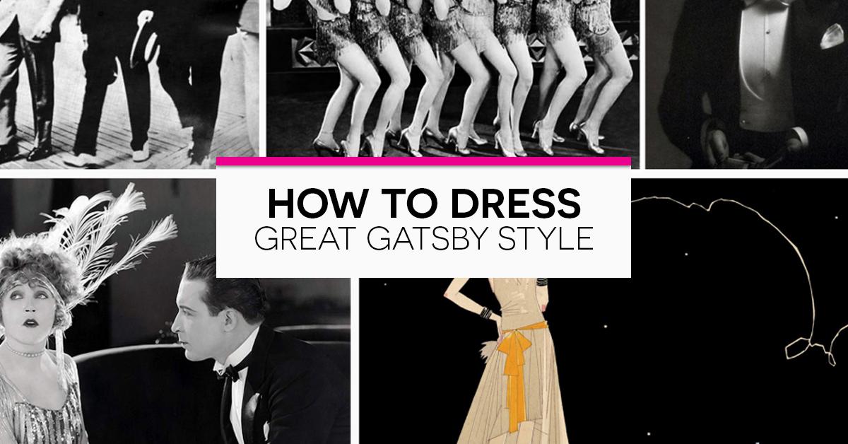 great gatsby clothing style women