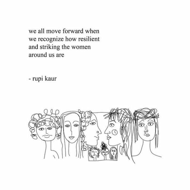 Rupid Kaur International womens day