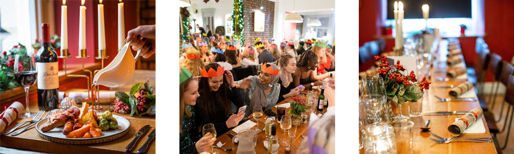 3 course Christmas Party in Bristol