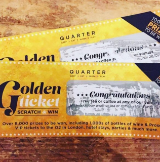 Golden Tickets = Prizes!