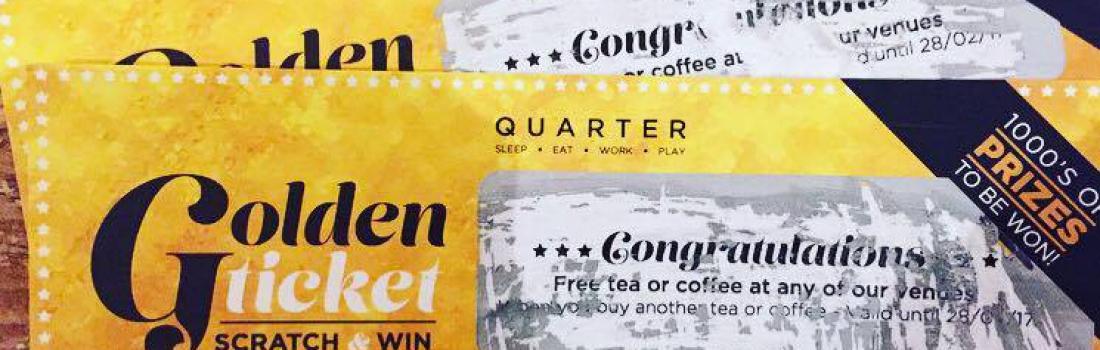 Golden Tickets = Prizes!