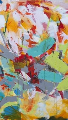 Living Among Trees - IV 60 x 60cm