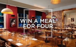 Win A Meal For Four